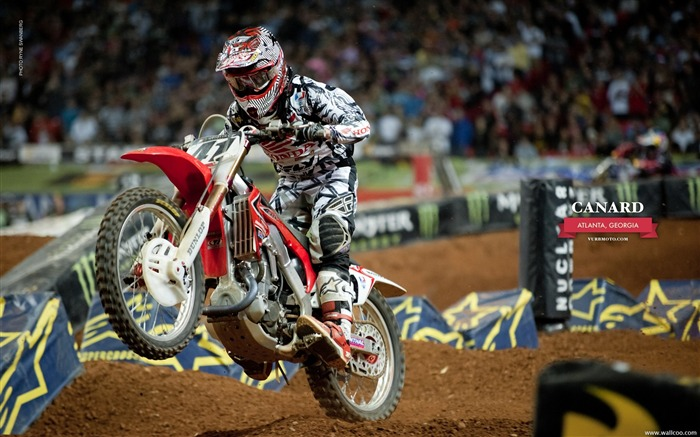 AMA Supercross Atlanta Station-riders Trey Canard Views:5453