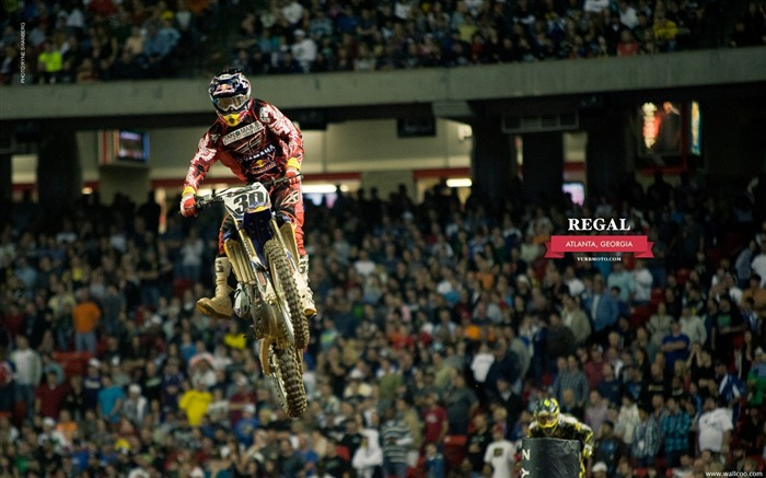 AMA Supercross Atlanta Station - driver Kyle Regal Views:5127
