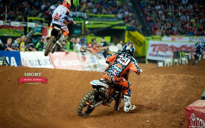 AMA Supercross Atlanta Station - riders Andrew Short Views:5169