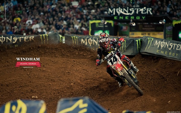 AMA Supercross Atlanta Station - riders Kevin Windham Views:5516