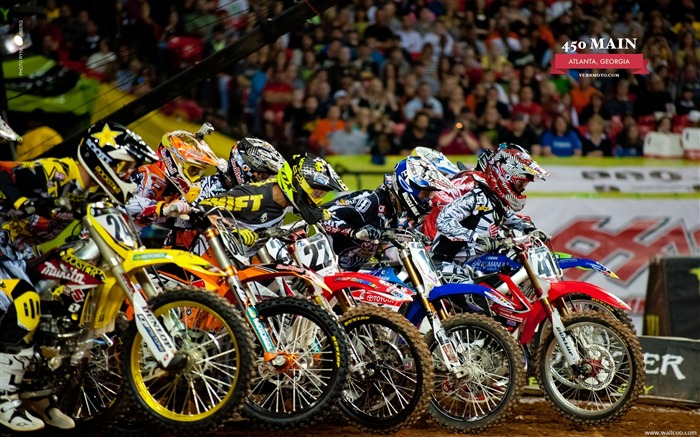 AMA Supercross Atlanta station -450 Main Views:13650