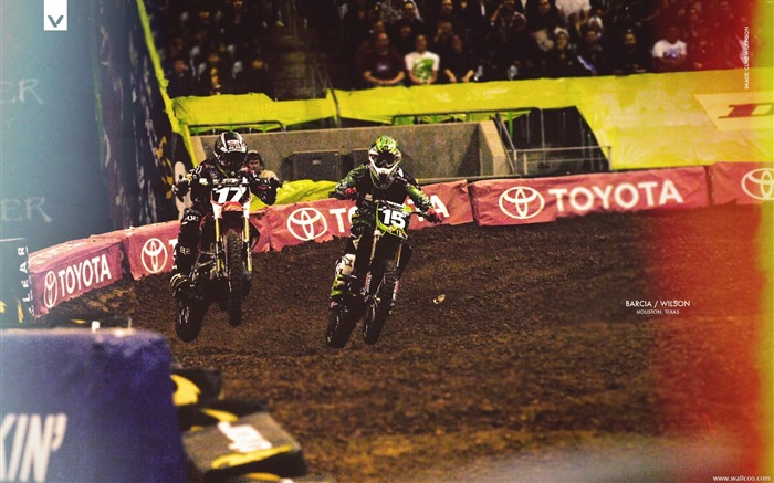 AMA Supercross Houston Station-drivers Barcia Wilson Views:3697