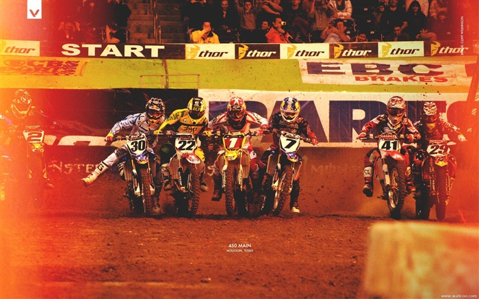 AMA Supercross Houston station-450 Main Views:3699