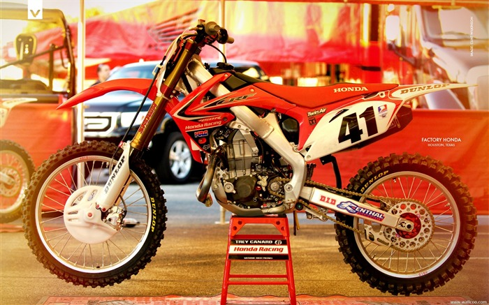 AMA Supercross Houston station-Factory Honda Honda motorcycle Views:3798