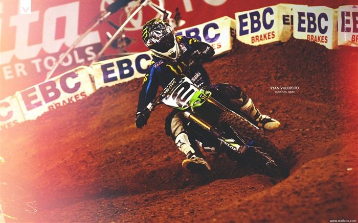 AMA Supercross Houston station-riders Ryan Villopoto Views:4183