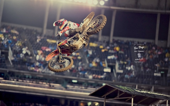 AMA Supercross San Diego-driver Eli Tomac Views:5773