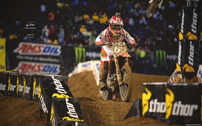 AMA Supercross San Diego-driver Jimmy Decotis Views:4837