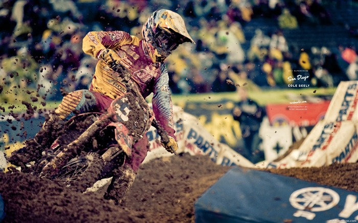 AMA Supercross San Diego-drivers Cole Seely Views:6098