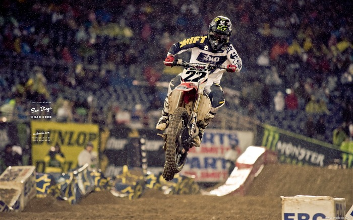 AMA Supercross San Diego-rider Chad Reed Views:6458