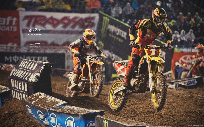 AMA Supercross San Diego-rider Ryan Dungey Views:4226