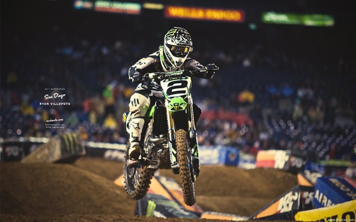 AMA Supercross San Diego-rider Ryan Villopoto Views:20618