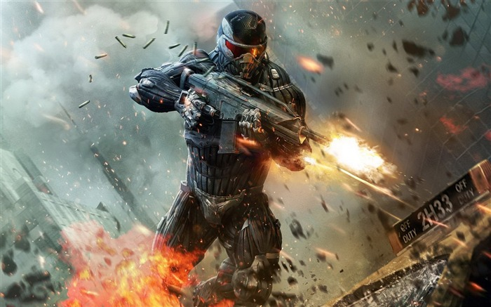 Crysis HD Game Desktop wallpaper Views:7410