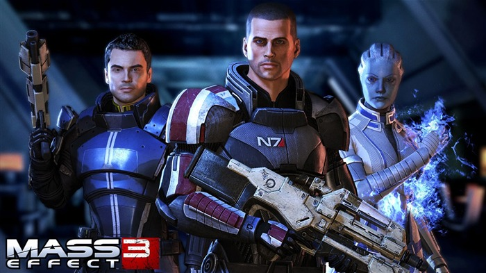 Mass Effect 3  Game HD Desktop Wallpaper Views:8272