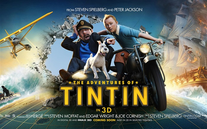 The Adventures of Tintin-3D Movie Wallpaper Views:8943