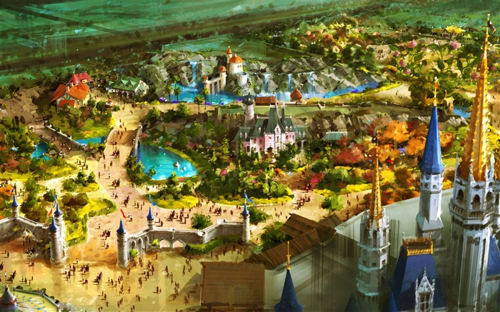 above fantasyland-Disney characters work desktop picture Views:16058 Date:11/12/2011 10:52:44 AM