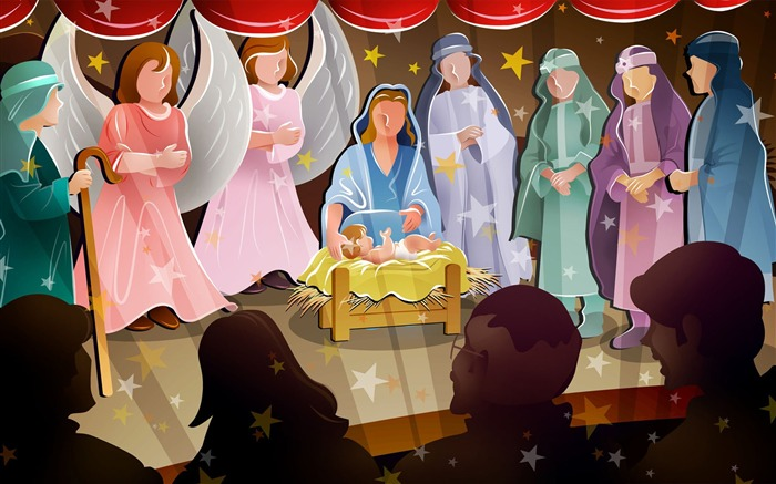 birth of jesus christ-Christmas Desktop Pictures Views:20556