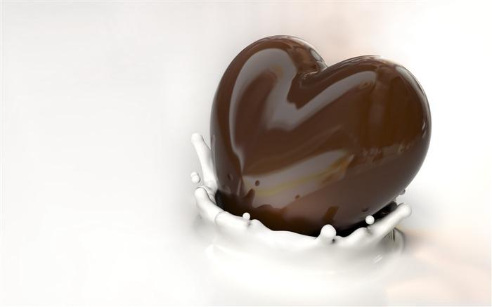 Déclaration d amour l amour sur le bureau de conception fonds d