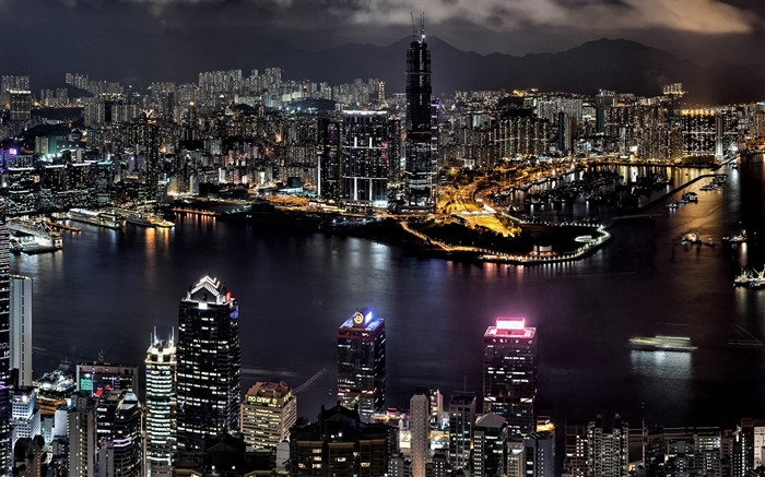 city night view-The urban landscape photography Desktop Wallpapers Views:22976 Date:11/11/2011 8:04:00 AM