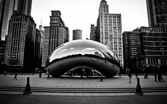 cloud gate chicago illinois united states-The urban landscape photography Desktop Wallpapers Views:27171 Date:11/12/2011 9:20:56 AM
