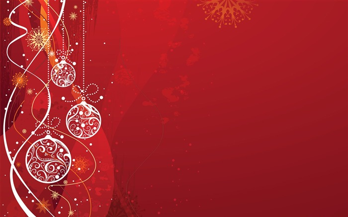 happy merry christmas Decorative ball-Christmas Desktop Pictures Views:5882