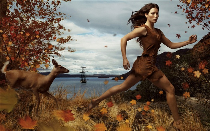 jessica biel as pocahontas where dreams run free-Disney characters work desktop picture Views:8169 Date:11/12/2011 10:59:40 AM