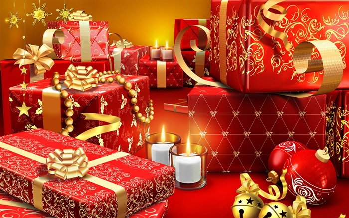 lots of christmas presents-Christmas Desktop Pictures Views:5977