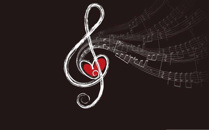 musical notes-Music Desktop Picture Views:47409