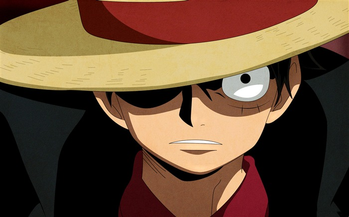 one piece luffy-Cartoon characters-HD Wallpaper the third series Views:68759