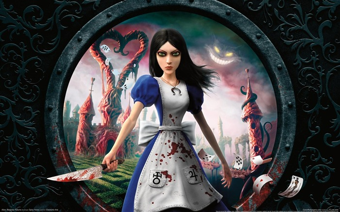 Alice-Madness Returns HD Game Wallpaper Views:7290