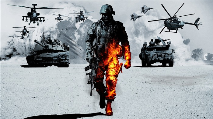 Battlefield 3-HD Games Desktop Wallpaper Album 04 Views:43958