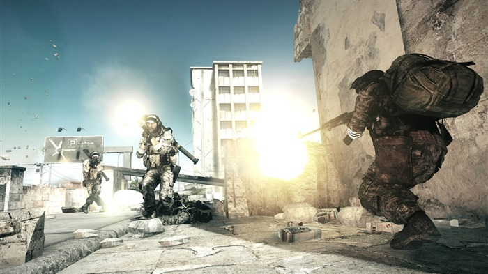 Battlefield 3-HD Games Desktop Wallpaper Album 11 Views:5696