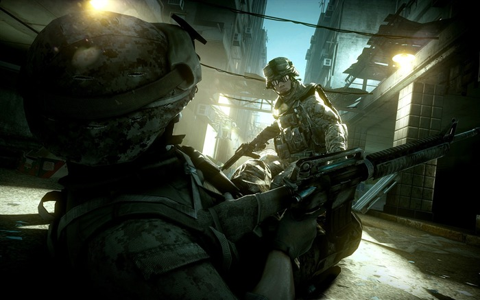 Battlefield 3-HD Games Desktop Wallpaper Album 20 Views:3751