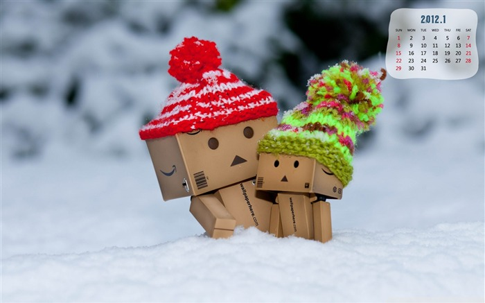 Danbo-January 2012 calendar desktop themes wallpaper Views:6871 Date:12/30/2011 11:47:55 PM