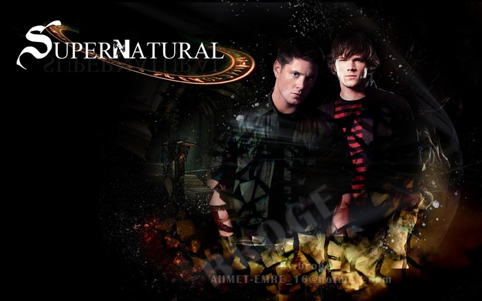 Dean Winchester and Sam-Supernatural-HD Desktop Picture Views:10604