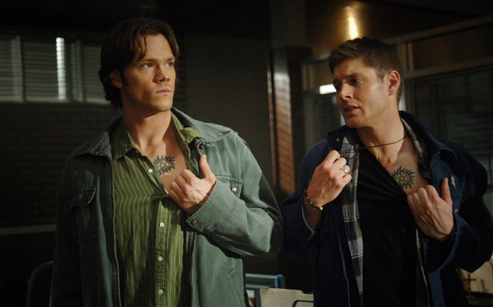 Dean Winchester and Sam Winchester -Supernatural-HD Desktop Picture Views:12105