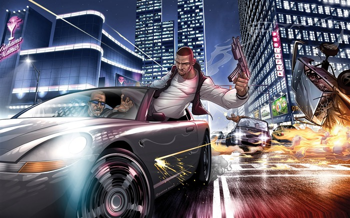 Grand Theft Auto HD Game Desktop Wallpaper 06 Views:5080