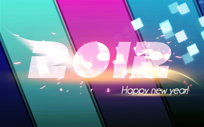 Happy New Year-2012 Year theme desktop picture 12 Views:3435