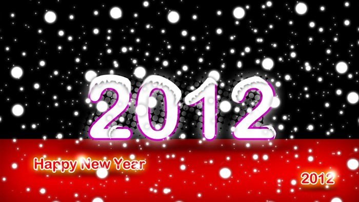 Happy New Year-2012 Year theme desktop picture 30 Views:2033