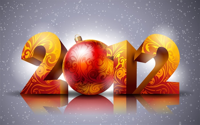 Looking forward to 2012-Happy New Year Desktop Wallpapers Views:14660