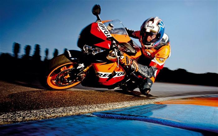 Superbike Racing Moto Racing Papier Peint De Bureau Liste