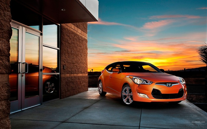 Hyundai veloster auto desktop picture wallpaper Views:9213