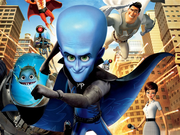 Megamind-Cartoon animation film Selected Wallpaper Views:14729 Date:12/29/2011 12:20:16 PM