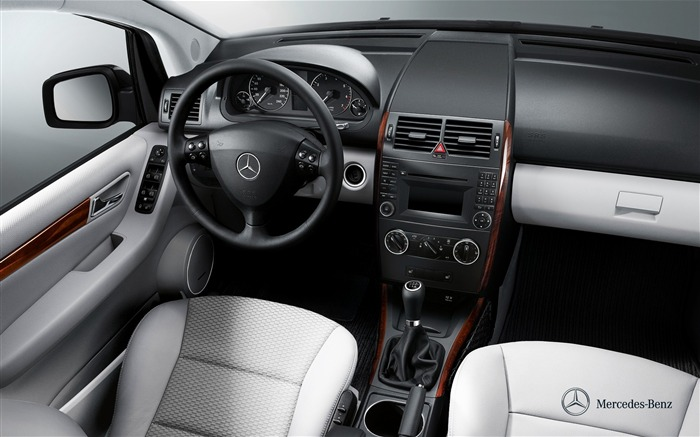 Mercedes benz a180 interior panoramic wallpaper wallpapers for Mercedes benz inside view
