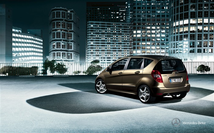 2011 Mercedes-Benz A-Class official wallpaper Views:8854
