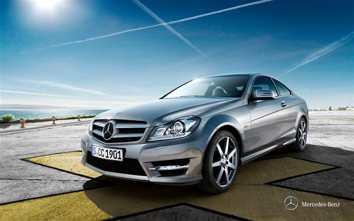 Mercedes-Benz C-Class Coupe wallpaper Views:11262