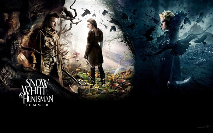 Snow White and the Huntsman Movie HD Desktop Wallpaper Views:8445
