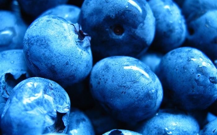 blueberries-sweet foods Desktop Wallpaper Views:6989