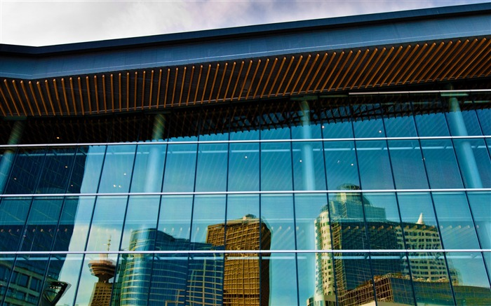 convention centre reflection-City landscape photography Desktop Wallpaper Views:4267