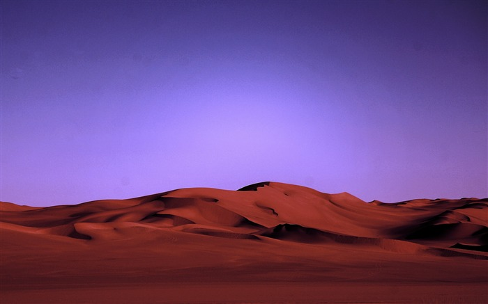 desert at night-Amazing desert scenery Desktop Wallpapers Views:15475