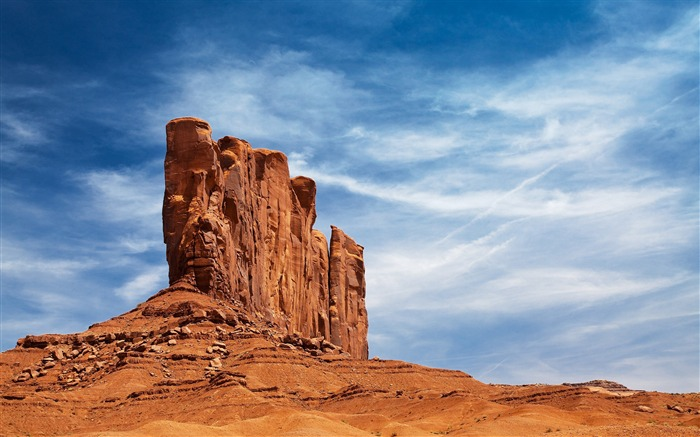 desert rock-Amazing desert scenery Desktop Wallpapers Views:17230